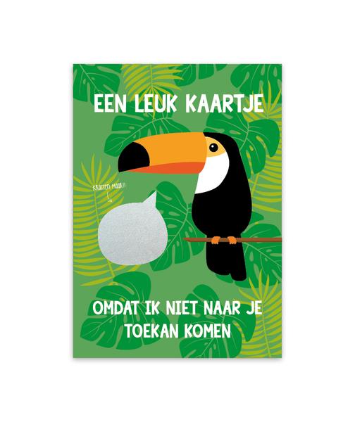 Kraskaart 'Een leuk kaartje'
