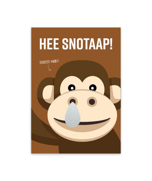Kraskaart 'Snotaap'