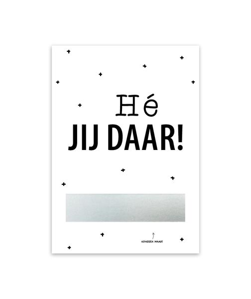 Kraskaart 'Bedankt!'