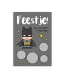 Kraskaart 'Uitnodiging Batman'_