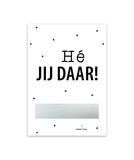 Kraskaart 'Bedankt!'_