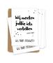 Kraskaartenset 'Wij gaan trouwen!' (Stip) 5 stuks
