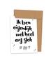 Kraskaart 'Gek op jou'