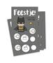 Kraskaartenset 'Uitnodiging Batman' (5 stuks)